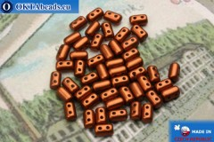 Rulla Beads copper matte (K01750) 3x5mm, 5g MK0241