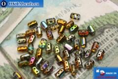 Rulla Beads topaz AB (95300CR) 3x5mm, 5g