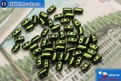 Rulla Beads green metallic (LK23980) 3x5mm, 5g
