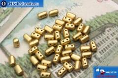 Rulla Korálky zlato matný (K0171) 3x5mm, 5g MK0251