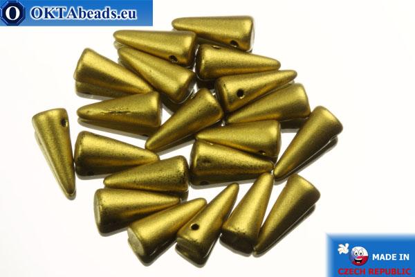 Spikes Beads gold matte (K0172JT) 4x10mm, 20pc MK0153