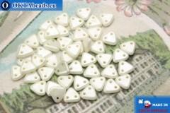 Triangle Korálky bílý luster (L03000) 6mm, 5g