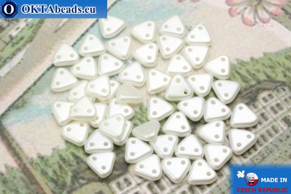 Triangle Korálky bílý perlový (25001AL) 6mm, 5g