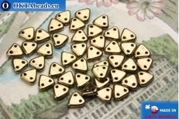 Бусины Треугольные бронза (B23980) 6мм5гр MK0264