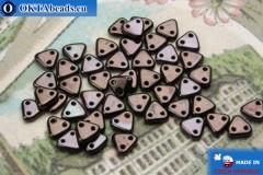 Triangle Beads bronze hematite (LE23980) 6mm5g MK0269