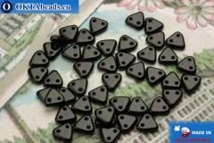Triangle Korálky černý (23980) 6mm, 5g MK0255