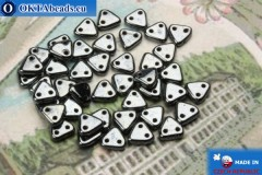 Triangle Beads hematite (L23980) 6mm5g MK0273