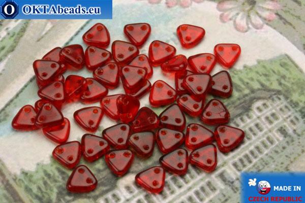 Triangle Korálky červený (90080) 6mm5g MK0261