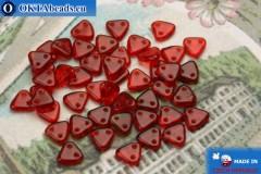 Triangle Korálky červený (90080) 6mm5g