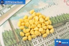 Czech buckwheat beads beige (13020) 5mm, 50pc, MK0541