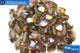 Чешские бусины гречка кристалл ирис (00030/29500) 5мм, 50шт PO015