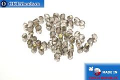 Český korálky ohňovky fialový bronz (ZR70110) 3mm, 50ks