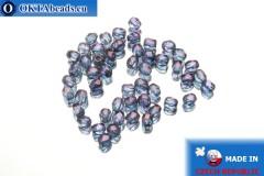 Český korálky ohňovky fialový luster (LE00030) 3mm, 50ks