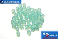 Český korálky ohňovky modrý opal (61010) 4mm, 50ks