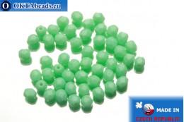 Český korálky ohňovky zelený (53120) 4mm, 50ks FP252