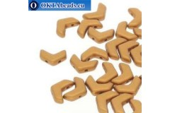 Chevron DUO beads Bronze Gold (00030/01740) 10x4mm 10pc