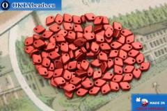 Dragon Scale Bead red metallic matte (01890) 1,5x5mm, 5gr