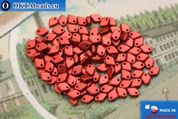 Dragon Scale бусины красный металлик матовый (01890) 1,5х5мм, 5гр MK0396