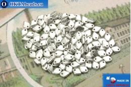 Dragon Scale бусины серебро матовый (01700) 1,5х5мм, 5гр MK0394