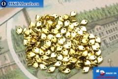 Dragon Scale Korálky zlato (00030/26440) 1,5x5mm, 5gr MK0398