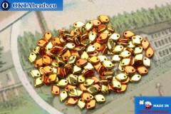 Dragon Scale Korálky zlato měď (00030/98542) 1,5x5mm, 5gr MK0412