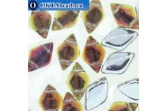 GemDuo beads Backlit Tequila (00030/28002) 8x5mm 20pc MK0681