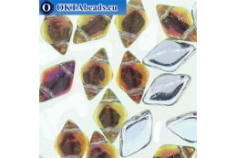 GemDuo beads Backlit Tequila (00030/28002) 8x5mm 20pc MK0681