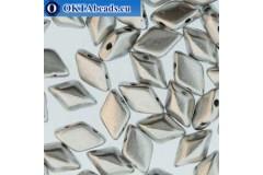 GemDuo beads Bronze Aluminium (00030/01700) 8x5mm 20pc MK0671