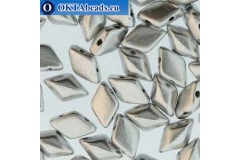GemDuo beads Bronze Aluminium (00030/01700) 8x5mm 20pc MK0671