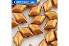 GemDuo korálky Bronze Gold (00030/01740) 8x5mm 20ks