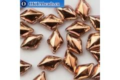 GemDuo beads Crystal Capri (00030/27101) 8x5mm 20pc MK0680