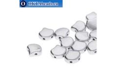 Ginko beads Bronze Aluminium (00030/01700) 7,5mm 20pc