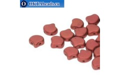 Ginko korálky Bronze Fire Red (00030/01750) 7,5mm 20ks MK0634