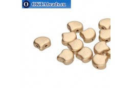 Ginko beads Bronze Pale Gold (00030/01710) 7,5mm 20pc MK0632