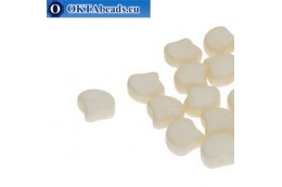 Ginko beads Chalk Beige Luster (03000/14413) 7,5mm 20pc MK0642