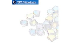Ginko beads Crystal AB (00030/28701) 7,5mm 20pc MK0639