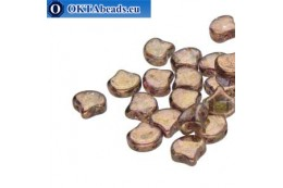 Ginko beads Crystal Senegal Brown (00030/15695) 7,5mm 20pc MK0636