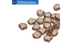 Ginko beads Crystal Senegal Brown (00030/15695) 7,5mm 20pc