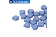 Ginko korálky Metallic Suede Blue (23980/79031) 7,5mm 20ks