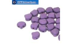 Ginko korálky Metallic Suede Purple (23980/79021) 7,5mm 20ks