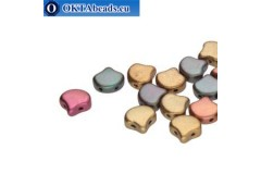 Ginko beads Violet Rainbow (00030/01640) 7,5mm 20pc