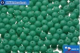 Круглые чешские бусины бирюза (63130) 3х3мм, 10гр MK0054