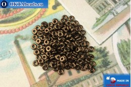O-Ring Korálky bronz (LZ23980) 1x3,8mm, 5g MK0439