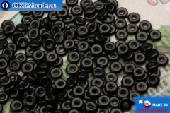O-Ring Beads black (23980) 1x3,8mm, 5g