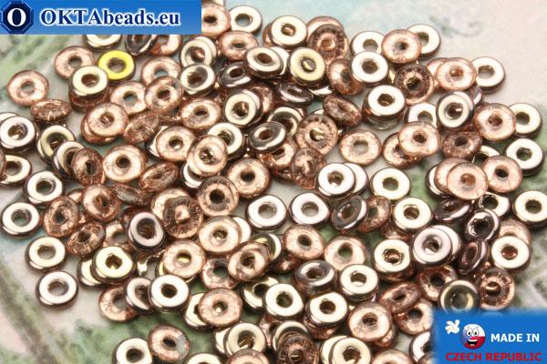 O-Ring Beads crystal copper (C00030) 1x3,8mm, 5g MK0205