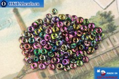 O-Ring Beads crystal vitrail (95100CR) 1x3,8mm, 5g