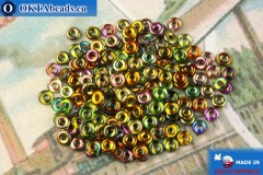 O-Ring Beads crystal vitrail (95300CR) 1x3,8mm, 5g MK0466