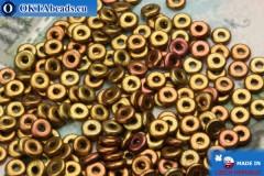 O-Ring Beads metallic iris matte (01610WH) 1x3,8mm, 5g