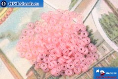 О-ринг Бусины розовый опал (71010) 1х3,8мм, 5гр
