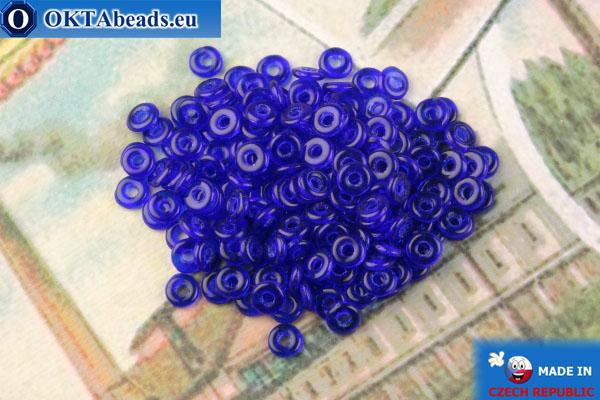 О-ринг Бусины синий (30090) 1х3,8мм, 5гр MK0462